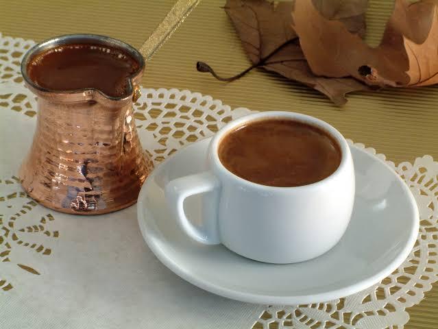 Greek organic coffee