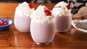 Red Wine Milkshakes